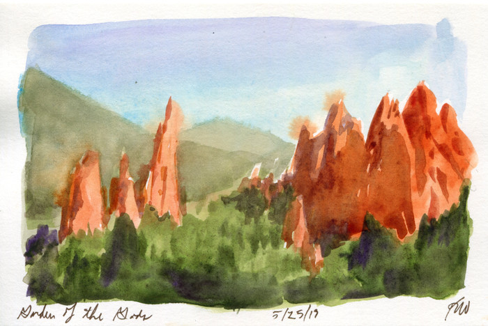Colorado Sketchcation: Day 2