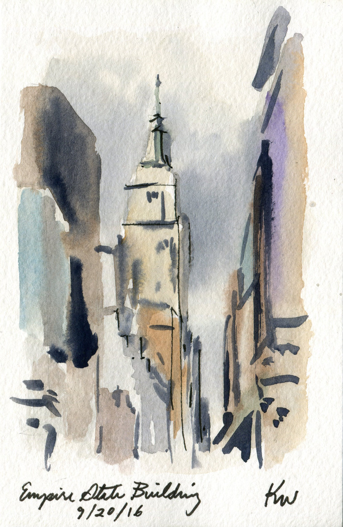 The Quickest Morning Watercolors