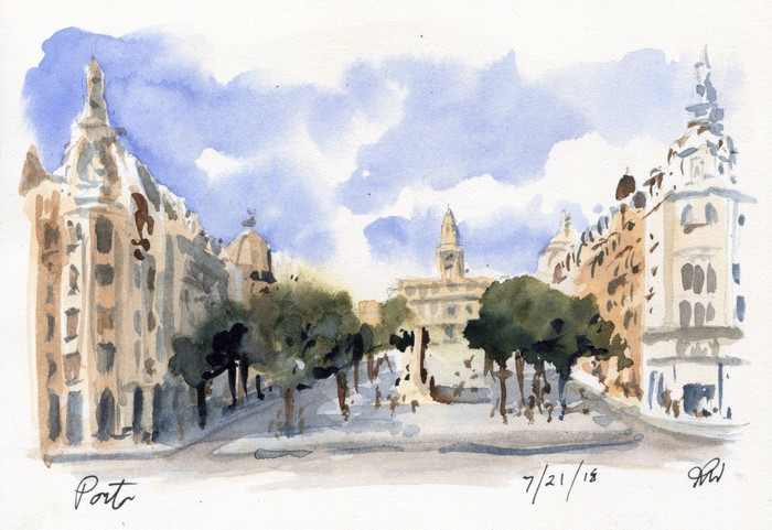 Portugal Sketchcation: Day 7
