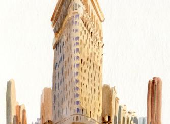 The Flatiron Building: an Illustration
