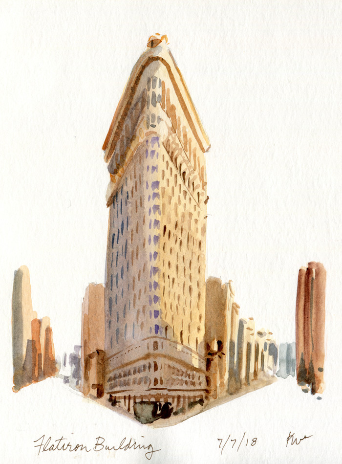 The Flatiron Building: an Illustration