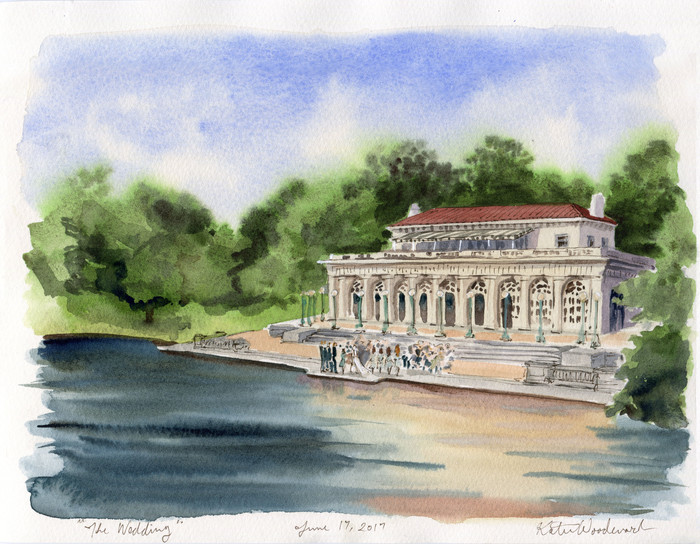 A Wedding at Prospect Park Boathouse