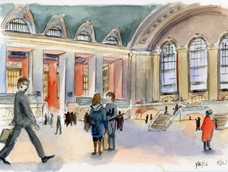 New York Urban Sketchers: Grand Central