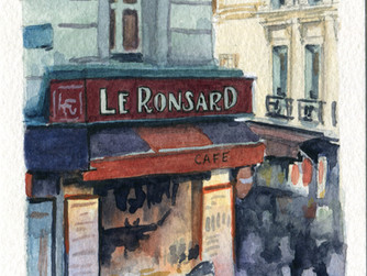 Painting from Photos: Paris Edition