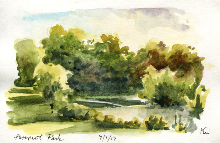 Flashback Friday: Two Sunny Days in Prospect Park