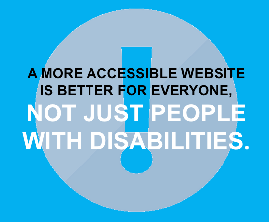 Accessibility is for all