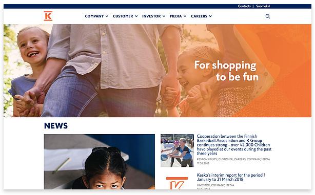 kesko's homepage