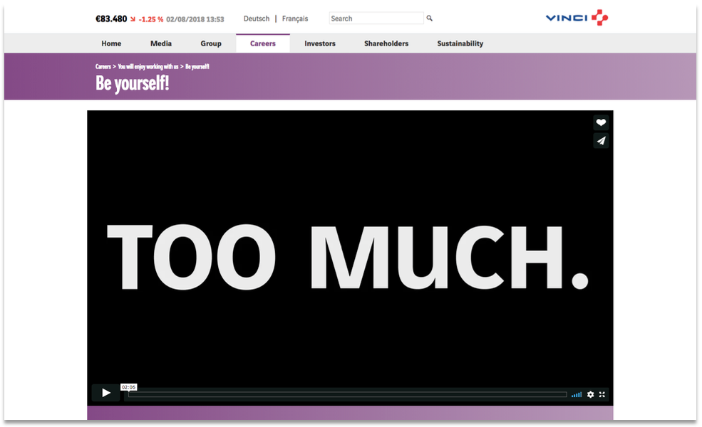 VINCI's careers video