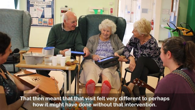 NHS Study into Music and Dementia