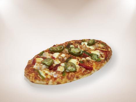 Mexican Fajita Chicken Pizza