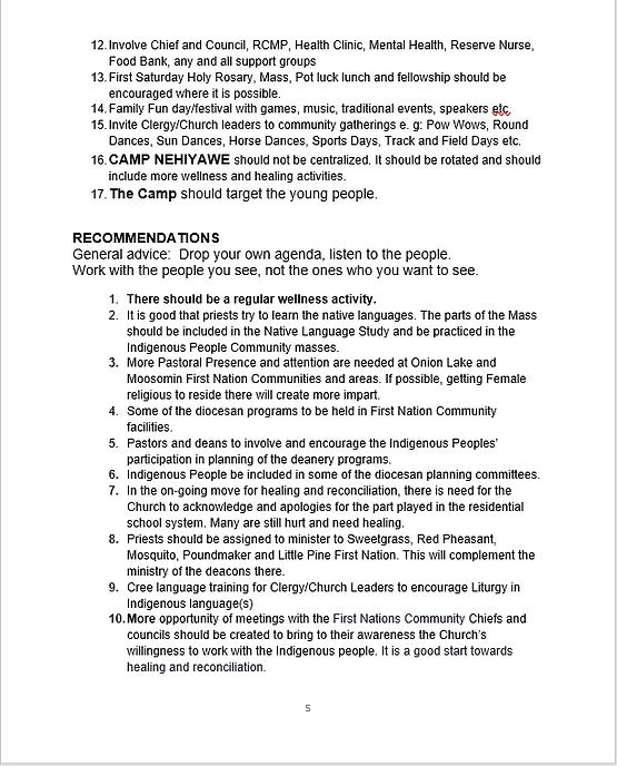 2021 Indigenous Outreach Report Page 5.P