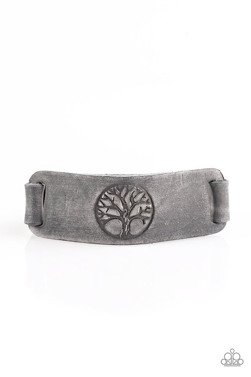 Remember Your Roots Bracelet - Silver