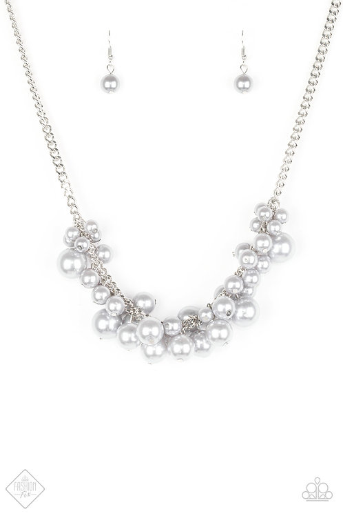 Glam Queen Necklace - Silver