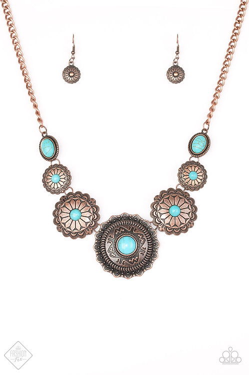 Mayan Marvel Necklace - Copper