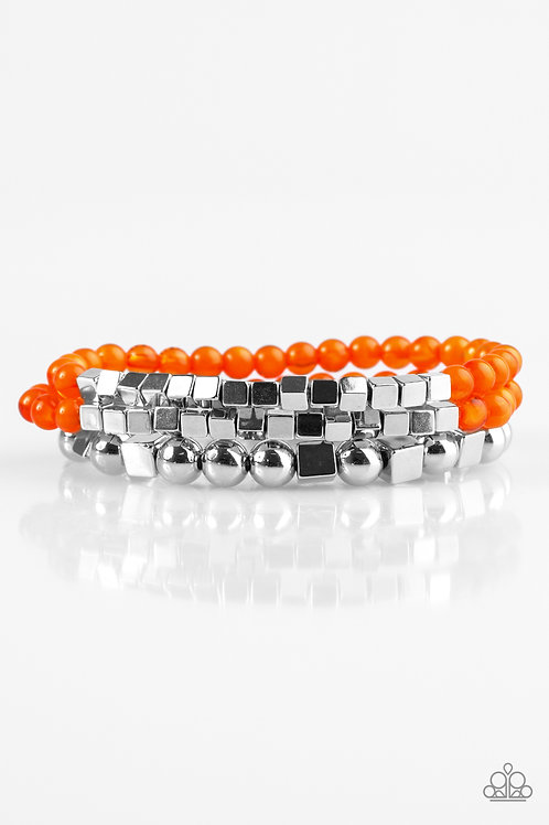 Take Shape Bracelet - Orange