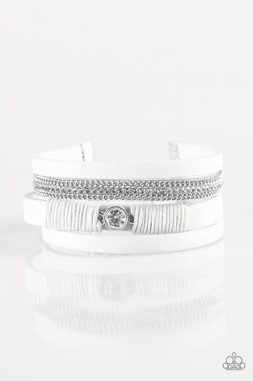 Catwalk Craze Bracelet -White