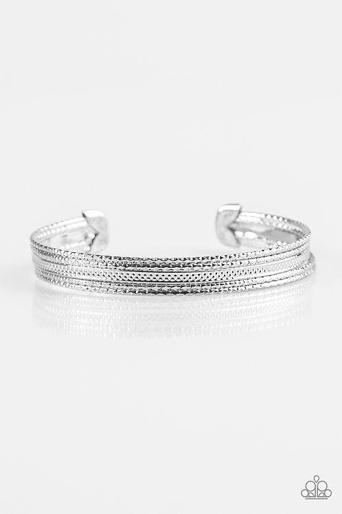 High Fashion Bracelet - Silver