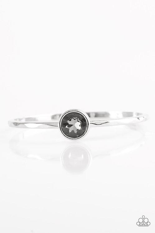 Diamonds for Breakfast Bracelet - Silver