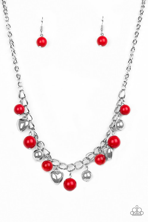 Summer Fling Necklace - Red