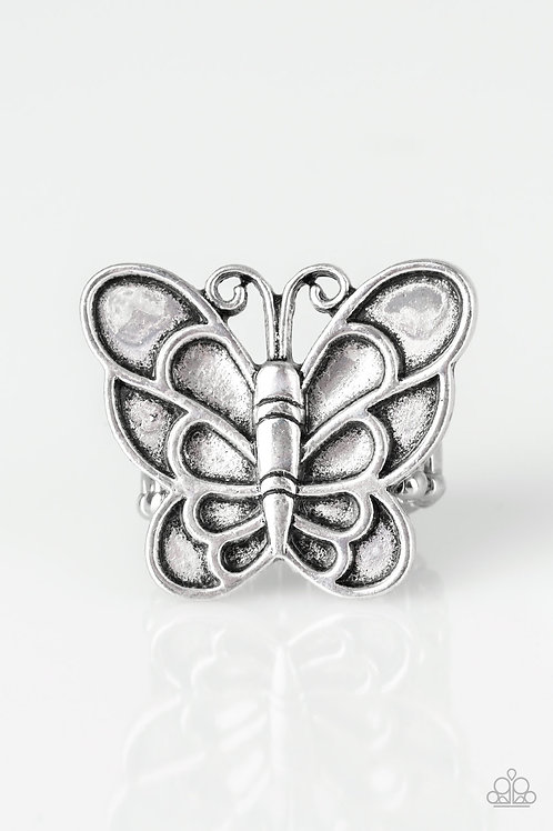 Sky High Butterfly - Silver