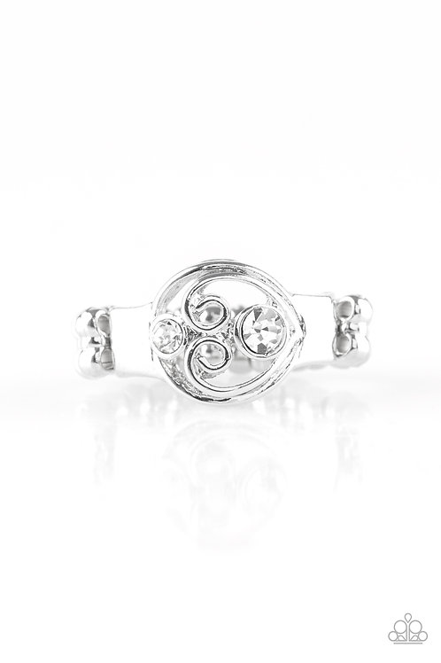 Oceanic Bliss Ring - White