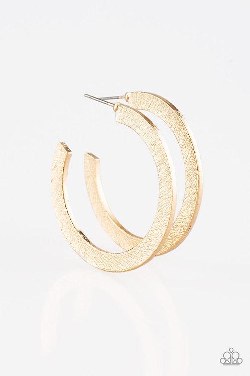 Haute Glam Earrings - Gold