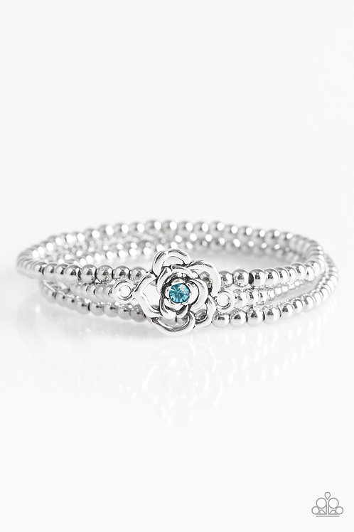 Perennial Princess Bracelet - Blue