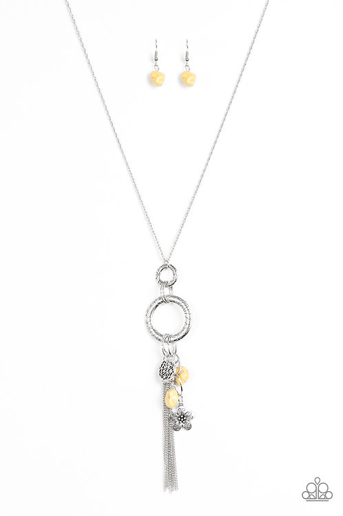 Tour De Desert Necklace - Yellow