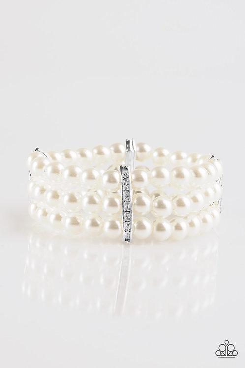 Royal Wedding Bracelet - White