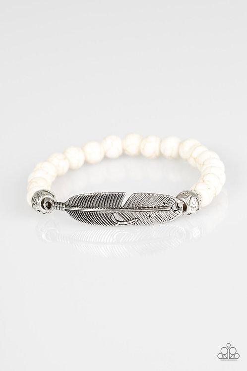 Take Wing Bracelet - White