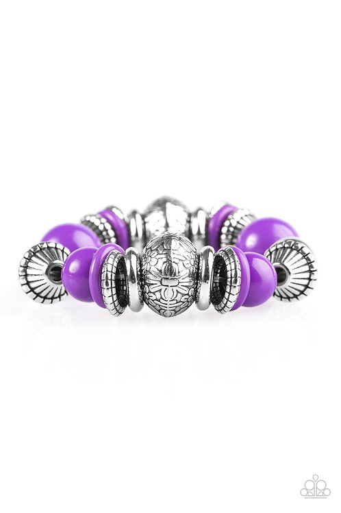 Seize the Season Bracelet - Purple
