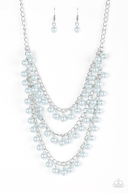 Chicly Classic Necklace - Blue