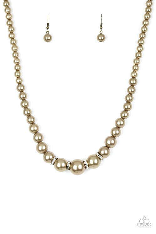 Party Pearls - Brass
