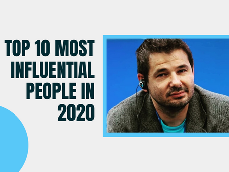 GSD's Derek Distenfield named Top 10 Most Influential People of 2020