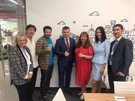 Derek Participates in Entrepreneurship Talks with Deputy Prime Minister of Irkutsk region
