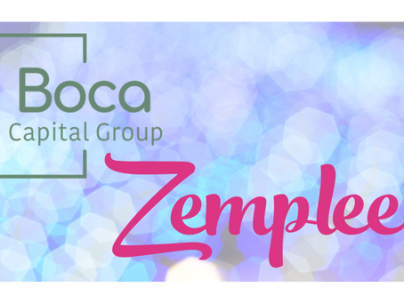 GSD Portfolio Company Zemplee Raises Funds From Boca Capital