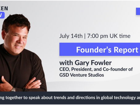 Gary Fowler Launches New VCTV Show: Founder's Report