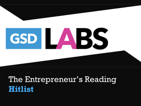 GSDLabs Summer Reading Guide to Super-charge Your Startups