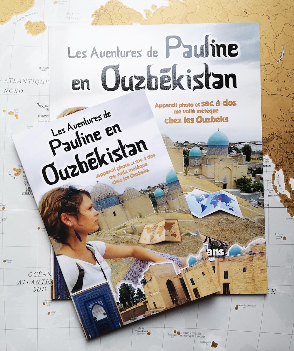 Pauline en Ouzbékistan