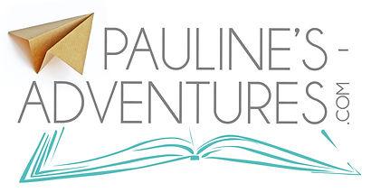 Les Aventures de Pauline. Voyages à lire et rire. Logo