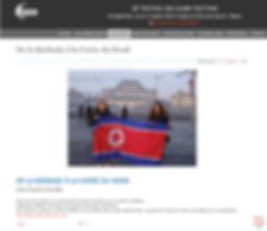 Livre Les Aventures de Pauline en Corée du Nord au Festival des Globe-Trotters