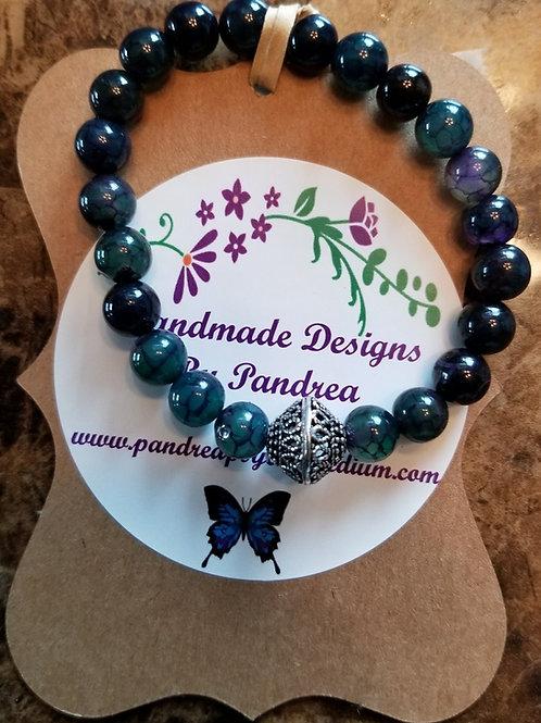 Handmade Multicolor Agate Bracelet