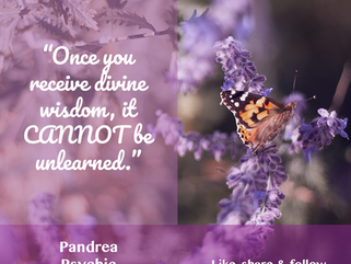 Pandrea's Inspirational Quote
