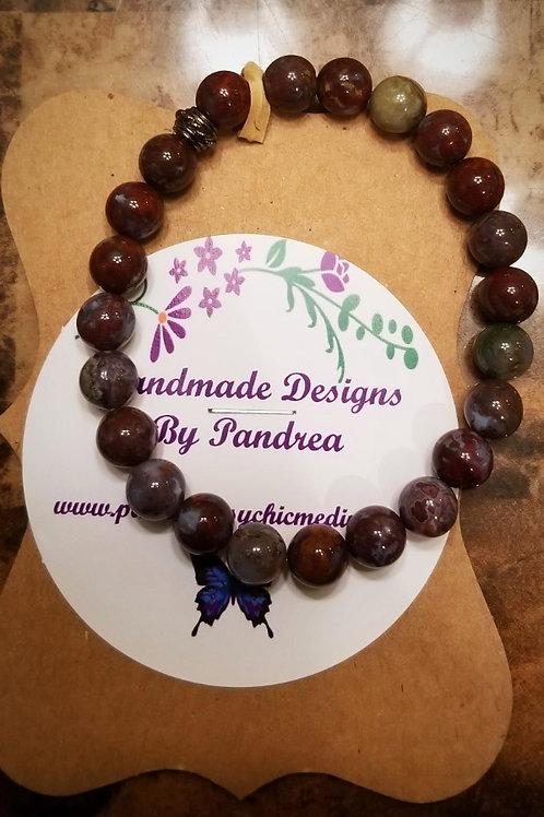 Handmade Petersite Bracelet