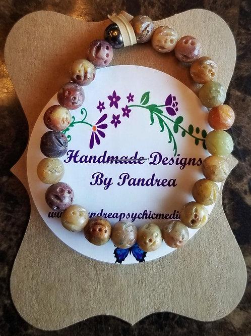 Handmade Soapstone Bracelet