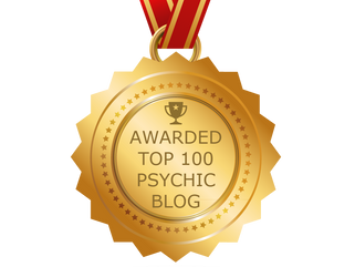 Top 100!! Pandrea Psychic Medium has been selected by panelist as one of the Top 100 Psychic Blogs o