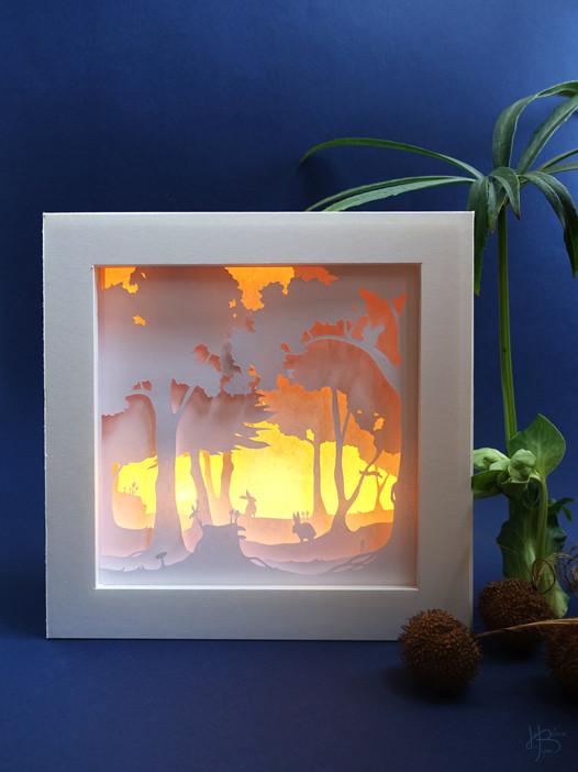 """Lightbox """"Dans les bois"""" - ON"""