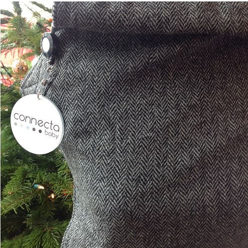 Connecta Charcoal Harris Tweed