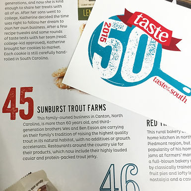 50 Tastes of the South