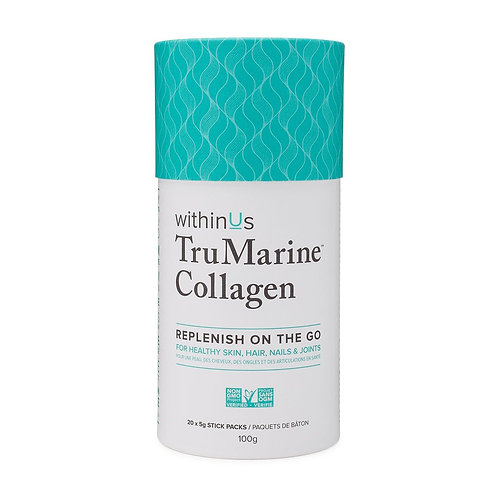 withinUs™ TruMarine® Collagen Canister - 20 x Stick Packs